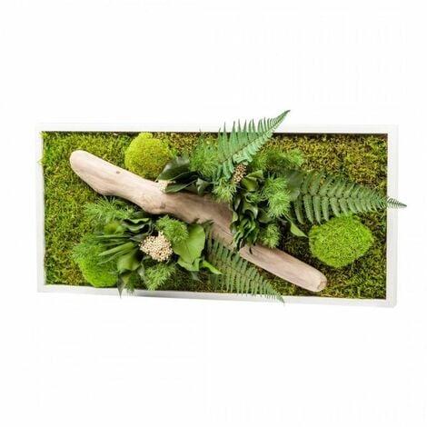 Tableau végétal gamme nature, rectangle panoramique 30 x 60 cm