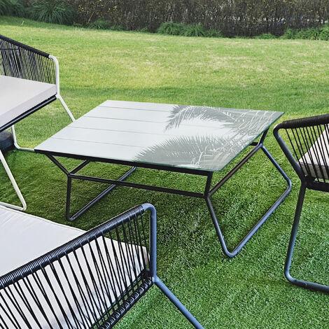 Tablero de vidrio para Mesa de centro - para Mesa de Comedor - Placa inferior para Chimenea - Vidrio Templado - 1200 x 650 mm