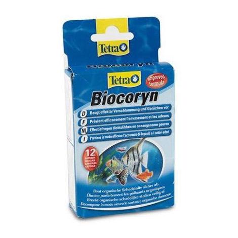 Tabletas TETRA BIOCORYN depuración de sustancias nocivas para el agua de acuario (12 Uds)
