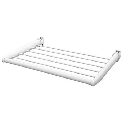 Tablette blanche 470mm pour radiateur sèche-serviettes