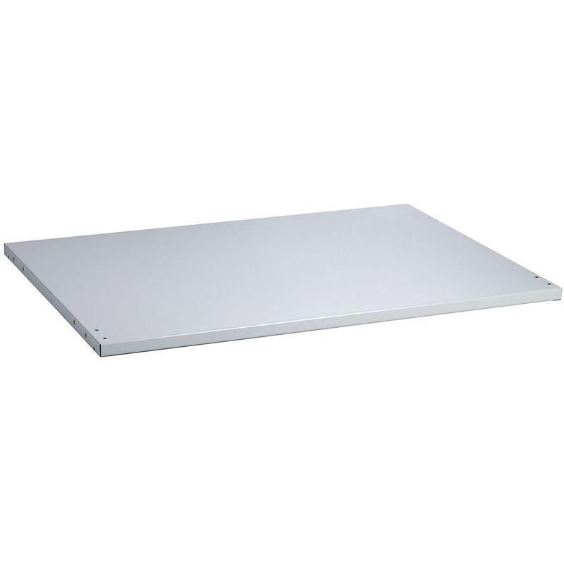 Tablette - charge max. 200 kg - réglable en hauteur - Coloris: Gris clair RAL 7035