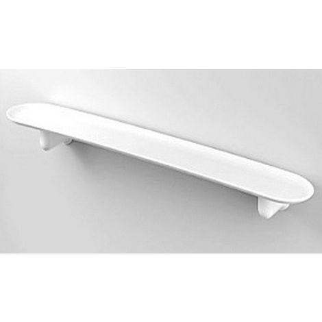 Tablette de salle de bain ABS blanche C-1System SERIES blanche 55 ...