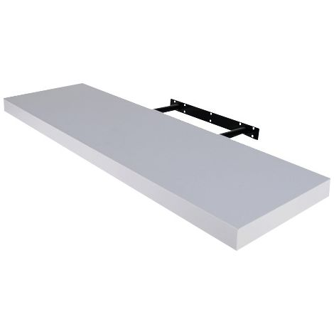 Tablette murale Plum'in Bourg Industries - 90 cm -Blanc Brillant