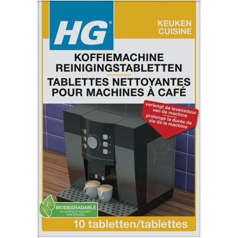 Tablette nettoyante Universelle pour machines à café HG - 10pcs