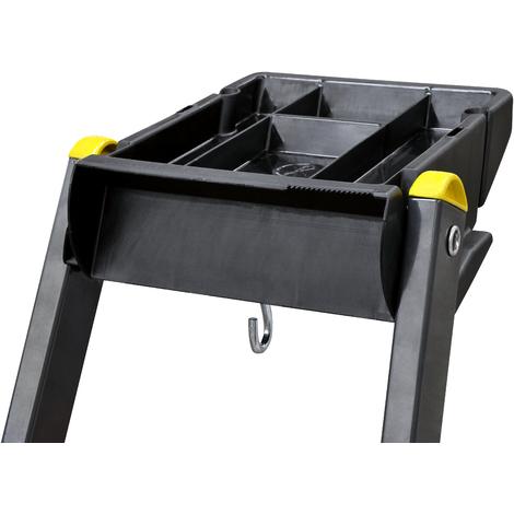 Tablette porte-outils double position pour escabeaux MP CENTAURE -380374 - -