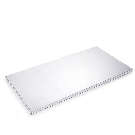 Tablette pour armoires d'atelier et à tiroirs - l x p 945 x 449 mm - lot de 2