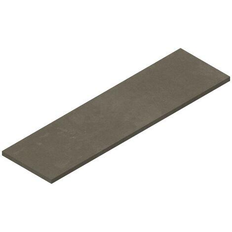 Tablette suspendue 1800 x 500 mm pour vasque à poser, finition gris béton Ponsi Teo BETEOCTOPP1804 | Ciment gris