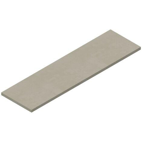 Tablette suspendue 1800 x 500 mm pour vasque à poser finition gris nuage Ponsi Teo BETEONTOPP1804 | Gris nuage