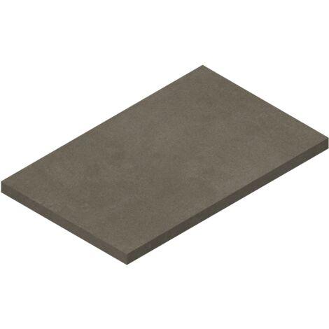 Tablette suspendue 800 x 500 mm pour vasque à poser, finition gris béton Ponsi Teo BETEOCTOPP8004 | Ciment gris