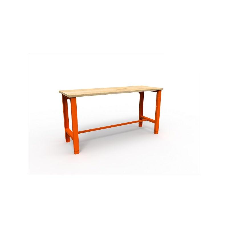 Établi d'atelier simple charge 600 Kg 1765x620x850 mm - CET-SWT 17/1 - Akaze