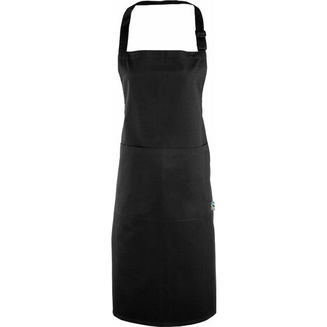 Tablier à bavette Fairtrade One Size Black