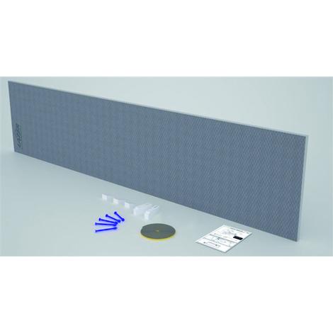 Tablier à carreler Panodur pour baignoire - Lazer - Epaisseur 30mm - 180x60cm
