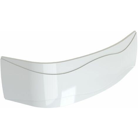 Tablier de baignoire en acrylam, courbé et réversible pour baignoire ELBA DUO asymétrique