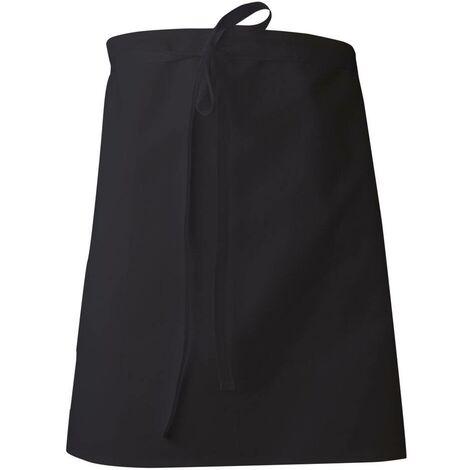 Tablier de cuisinier LMA Tamis Noir Unique