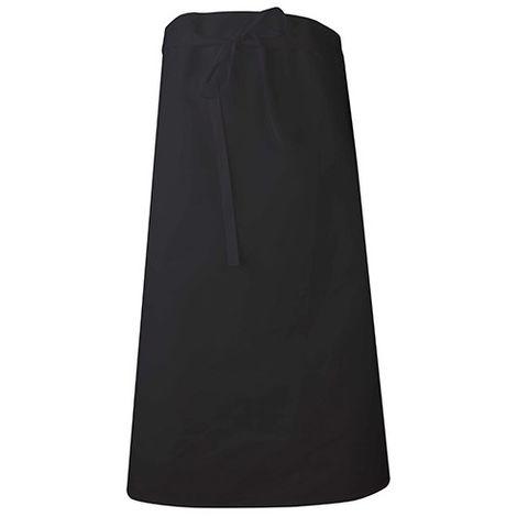 Tablier de cuisinier long rectangle 90 cm - SIPHON - Noir - taille: - couleur: Noir