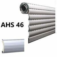 Tablier de volet roulant en alu, ame AHS 46 coloris au choix, prix au m², fabriqué sur-mesure - LAKAL - - AHS46.