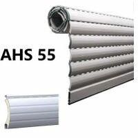 Tablier de volet roulant en alu, lame AHS 55, coloris au choix, prix au m², fabriqué sur-mesure - LAKAL - - AHS55.