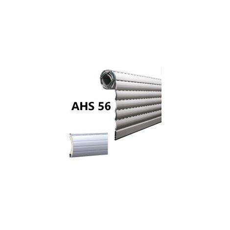 Tablier de volet roulant en alu, lame AHS 56, coloris au choix, prix au m², fabriqué sur-mesure - LAKAL - AHS56.
