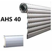 Tablier de volet roulant en alu, lame AHS40, coloris au choix, prix aum², fabriqué sur-mesure - LAKAL - - AHS40.