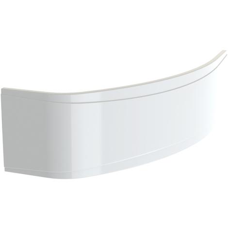Tablier NEW ANCO asymétrique en acrylique - Blanc