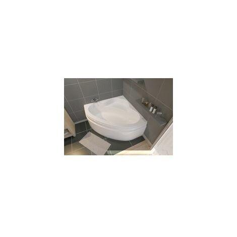 Tablier pour baignoire d'angle VERSEAU 3 135 x 135 cm blanc ALTERNA