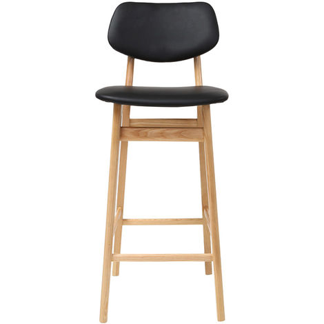 Tabouret / chaise de bar design bois NORDECO