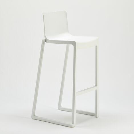 Tabouret Chaise Haut Design en Fiberglass KASAR pour Salle à Manger et Bar Boonen Design