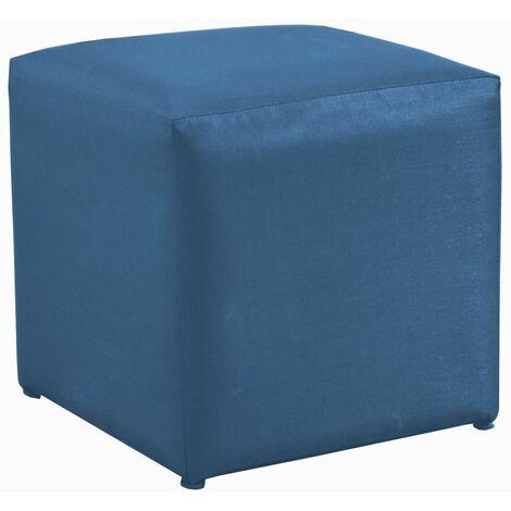 Tabouret Cub - Alu/Tpep - Bleu