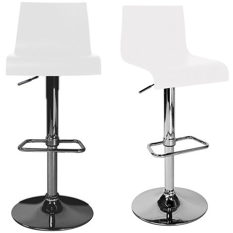 Tabouret de bar / cuisine moderne NEWSURF (lot de 2)