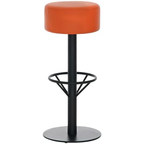 Tabouret de bar Pisa B85 orange