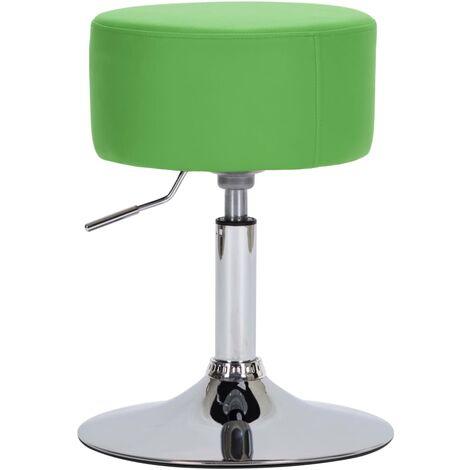 Tabouret de bar Vert Similicuir
