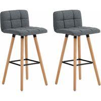 chaises hautes de bar pied en bous