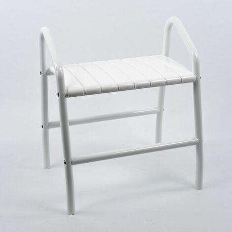 Tabouret de douche design avec poignées Pellet - Chaise de douche