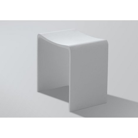 Tabouret de douche en solid surface Maranello