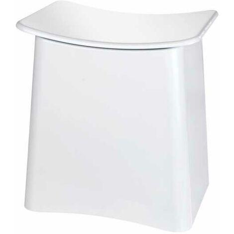 Tabouret de douche Wing, blanc