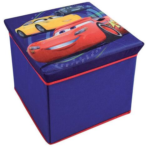 Tabouret de rangement Cars 3 Disney