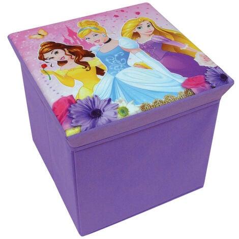 Tabouret de rangement Princesse Disney