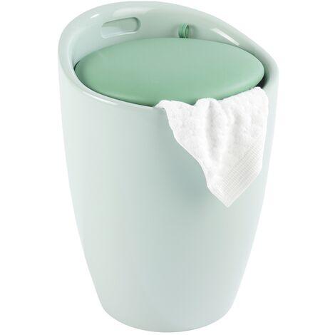 Tabouret de salle de bain Candy menthe WENKO