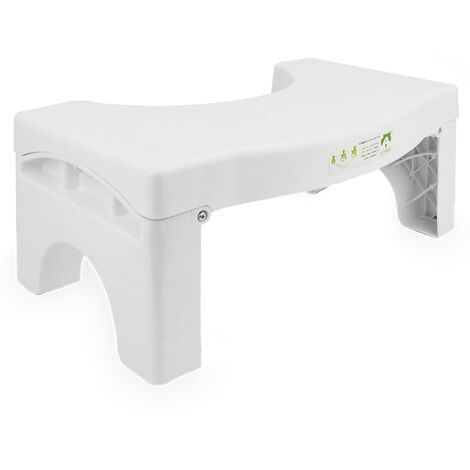 "main image of ""Tabouret de toilette pliant accroupi | Pukkr ( Pukkr ) - White"""