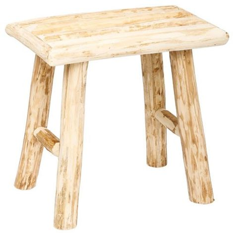"""main image of """"Tabouret En Bois Style Pure Nature Woody"""""""