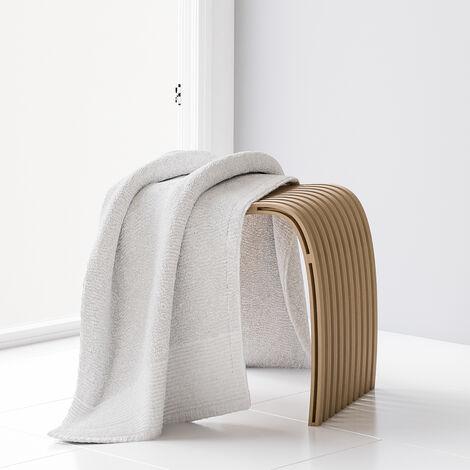 Tabouret ergonomique de salle de bains avec pieds antidérapants