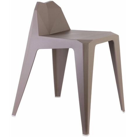 Tabouret Origami taupe - Taupe