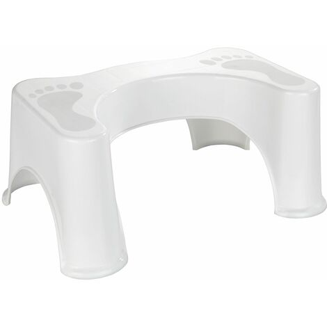 "main image of ""Tabouret pour toilette Secura - 48 x 20.5 x 33.5 - Blanc"""