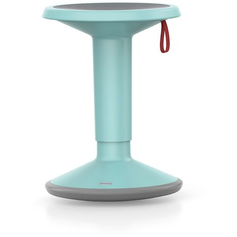 Tabouret UP - hauteur réglable 450-630 mm - turquoise pastel