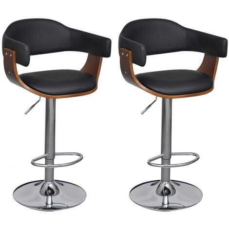 Tabourets de bar 2 pcs Similicuir