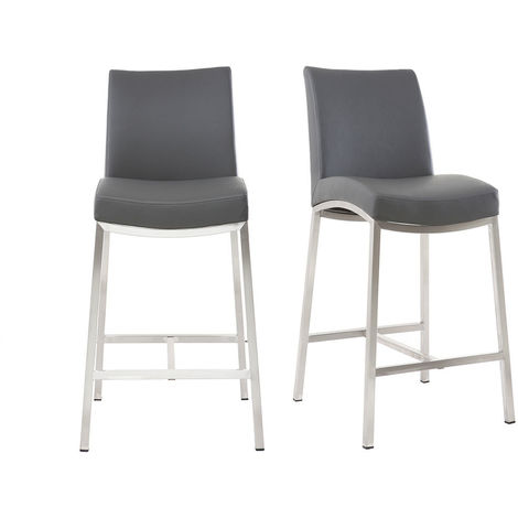 Tabourets de bar design 66 cm (lot de 2) OLLY