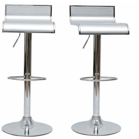 Tabourets de bar design WAVES (lot de 2)