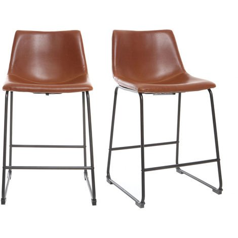 Tabourets de bar vintage 61 cm (lot de 2) NEW ROCK