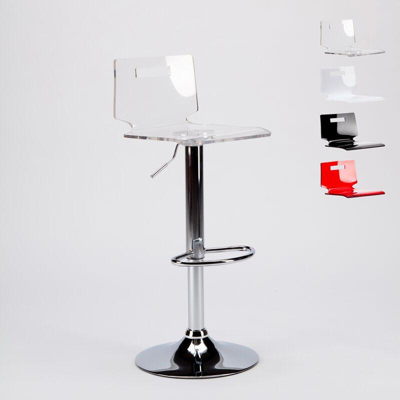 Taburete bar y cocina acero cromado diseño moderno SAN JOSÉ ...