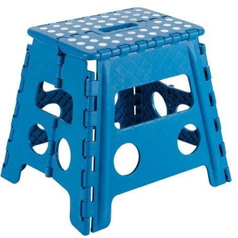 Taburete Multiuso Plegable Azul 29X22X32Cm - ARREGUI - Tb032A
